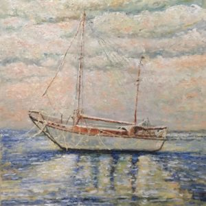 Hope Tian Art - Sailing boat