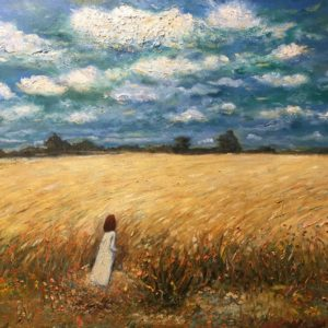 Hope Tian Art - Golden field